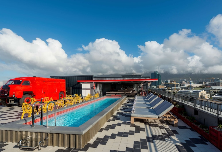 Radisson RED Hotel V&A Waterfront Cape Town, קייפטאון, מרפסת גג