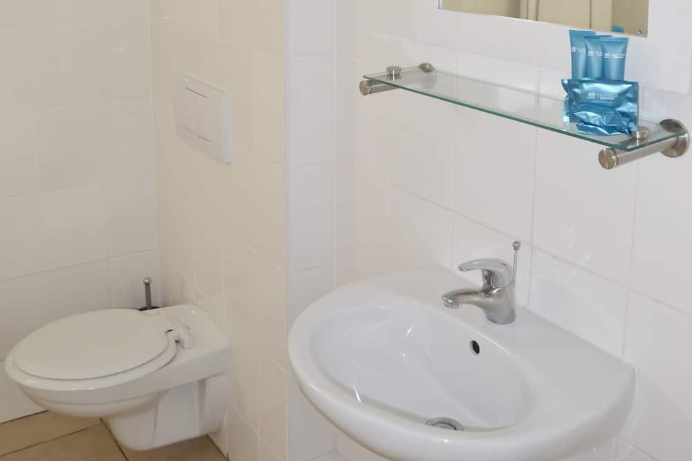 Estudio, 1 habitación, vista al puerto - Lavabo en el baño