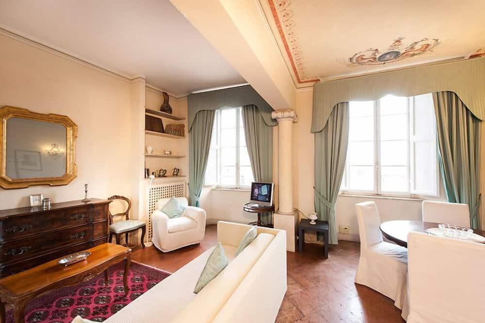 Exclusive Διαμέρισμα, 1 Υπνοδωμάτιο, Θέα στο Ξενοδοχείο, Executive Επίπεδο - Περιοχή καθιστικού