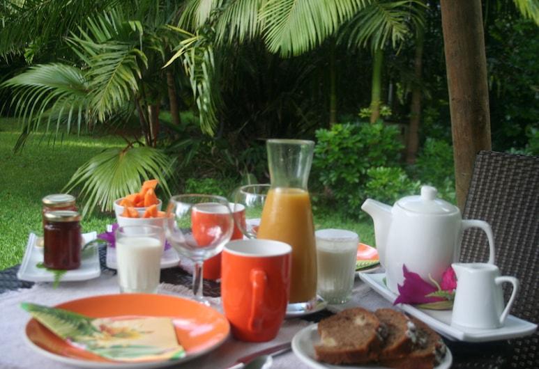 Lézard Home Bed and Breakfast, Paita, Comfort bangalo, 1 ülilai voodi, Einestamine vabas õhus