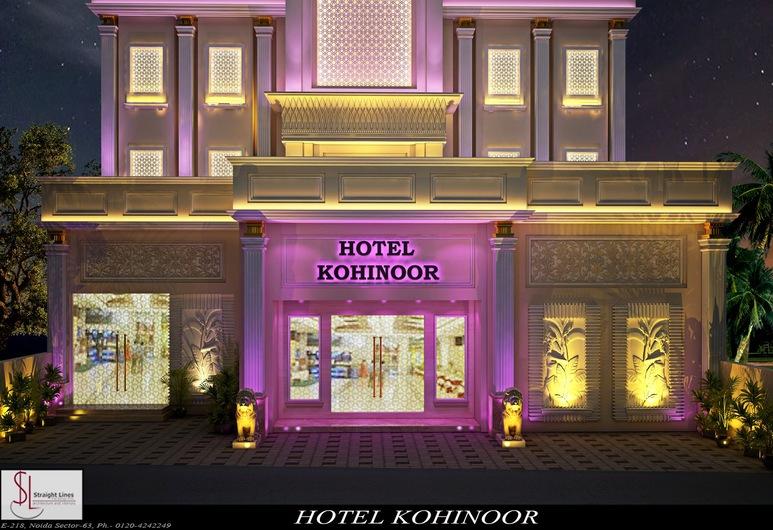 Hotel Kohinoor Palace, Ludhiana, Fachada do Hotel - Tarde/Noite