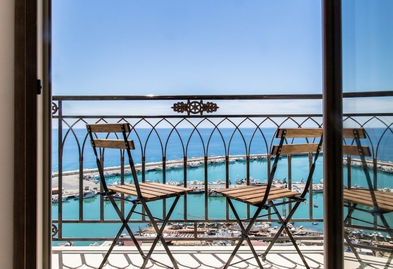 Domus Maris Boutique Hotel, Sciacca, Deluxe Triple Room, Sea View, Balcony
