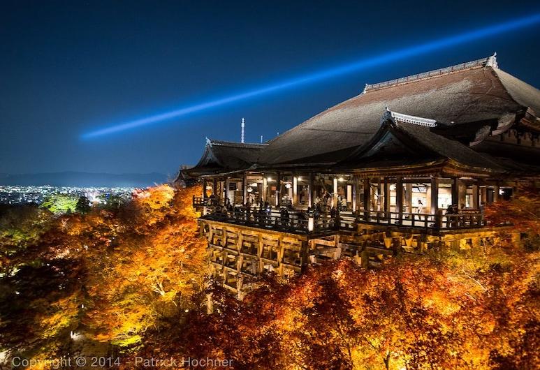 키요미즈 사무라이 마치야, Kyoto, 숙박 시설 정면 - 저녁