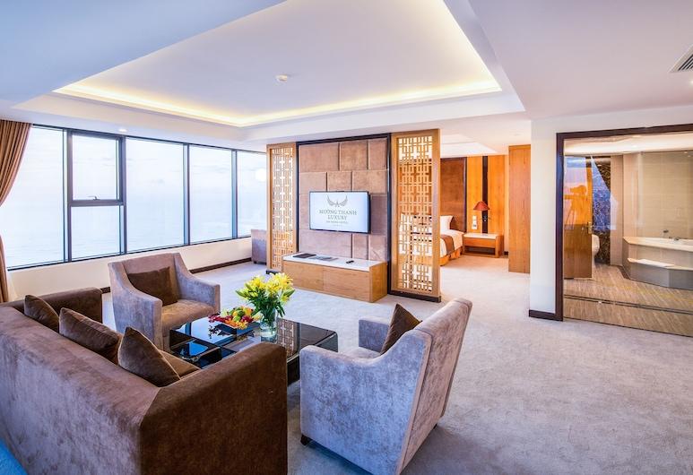 峴港芒青豪華飯店, 峴港, 頂級套房, 海景, 客房