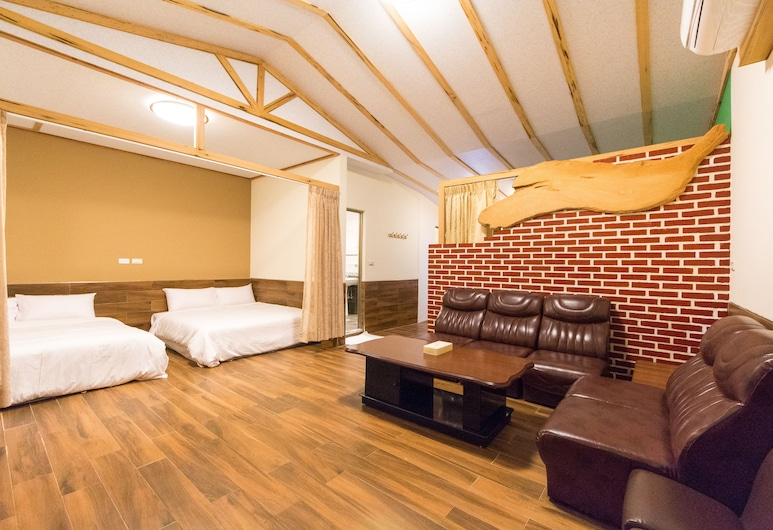 Don't Leave Fun, Guanshan, חדר (8-Person), חדר אורחים