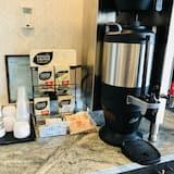 Servering af kaffe