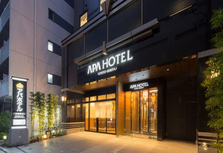 APA Hotel Kyoto-Ekikita, Kyoto, Hotel Front – Evening/Night