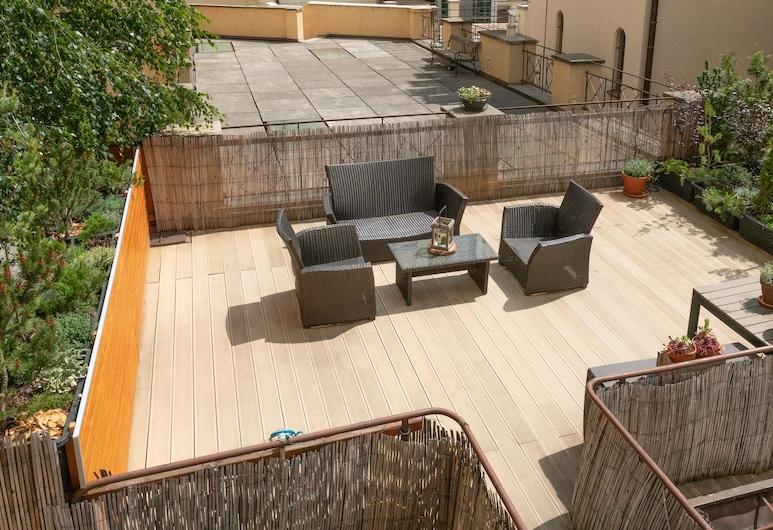 モルデカイ トゥエルヴ, プラハ, One Bedroom Apartment Julie with Terrace, テラス / パティオ