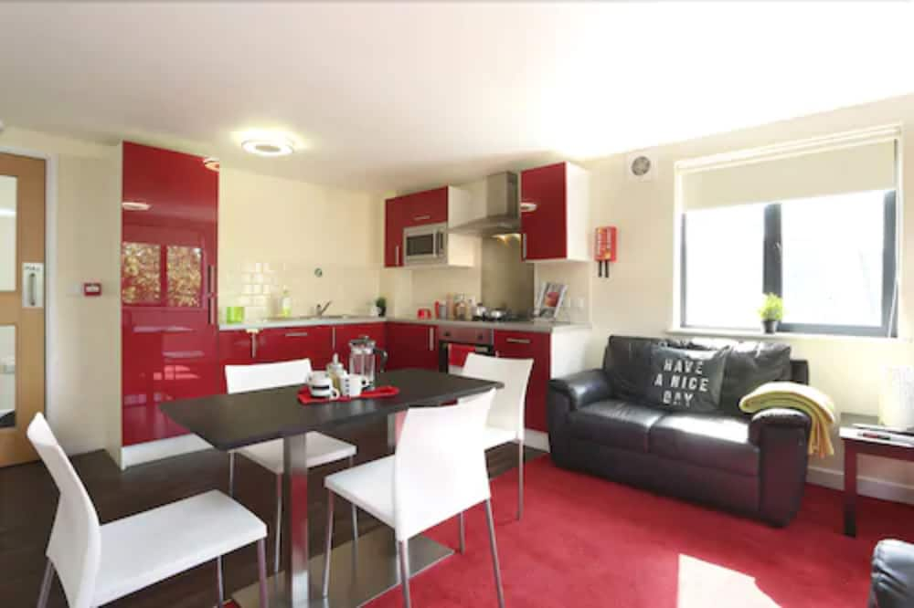 Double Room (3/4 Size Small Double Bed) - Living Area
