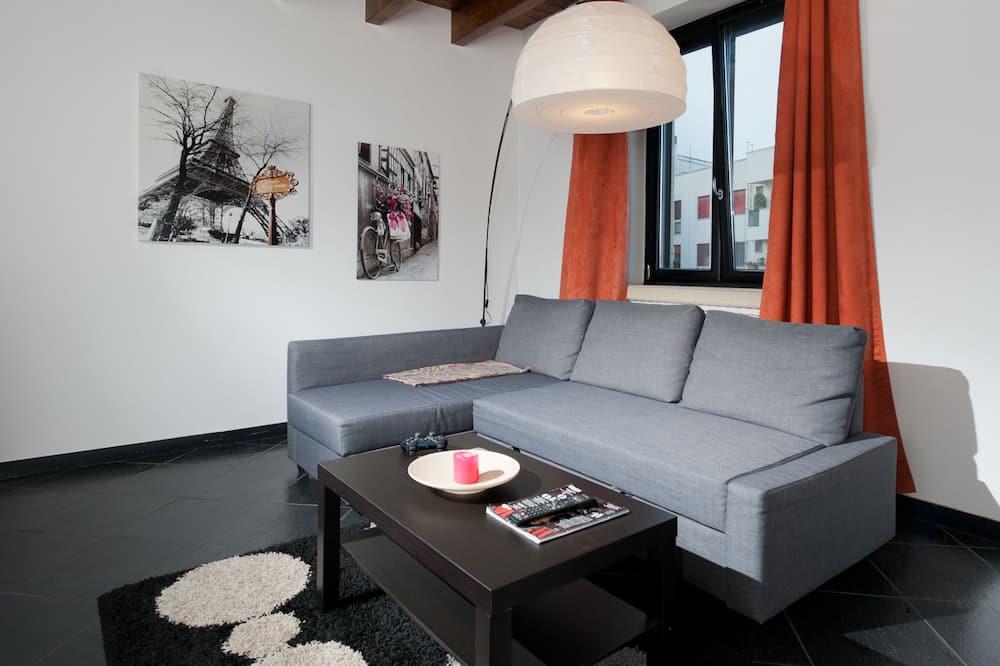 Apartment, 1 Bedroom (Viale Francesco Lo Re, 105) - Living Area