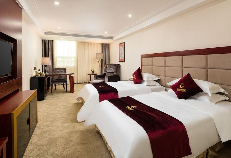 廣州歌爾爵斯酒店, 廣州市, 標準雙床房, 客房