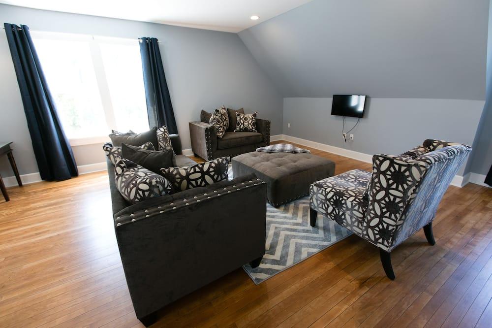 蜜月套房, 1 間臥室 - 客廳