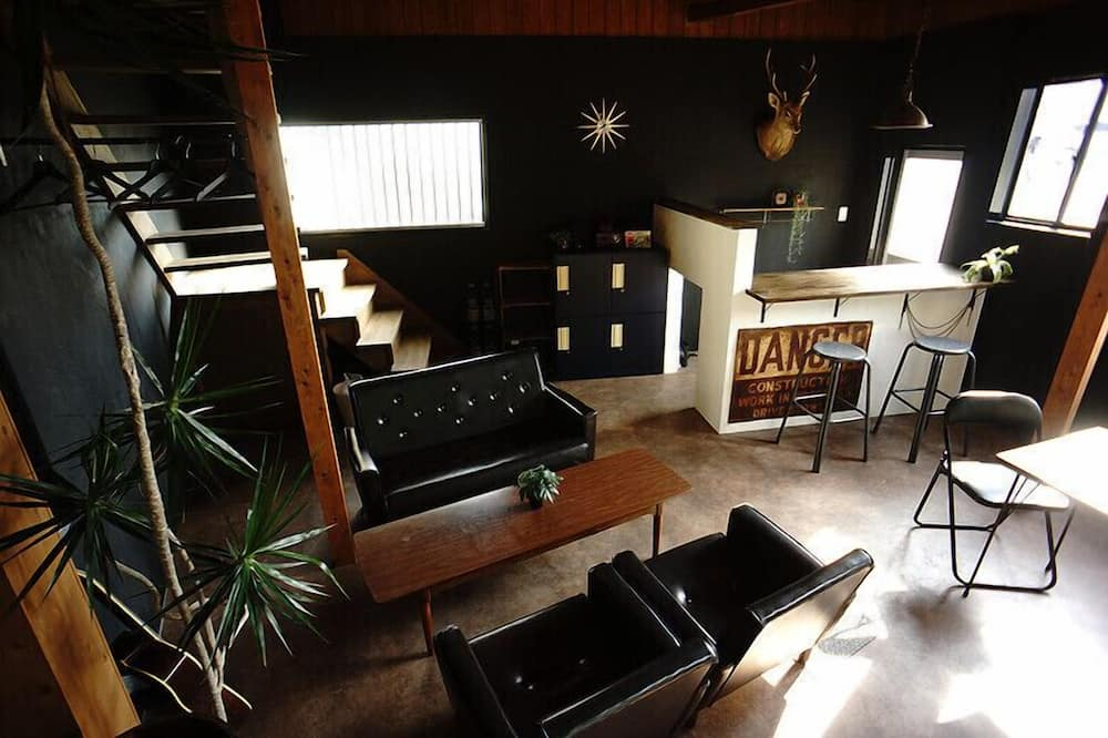 Holiday Home (No Kitchen) - Living Area
