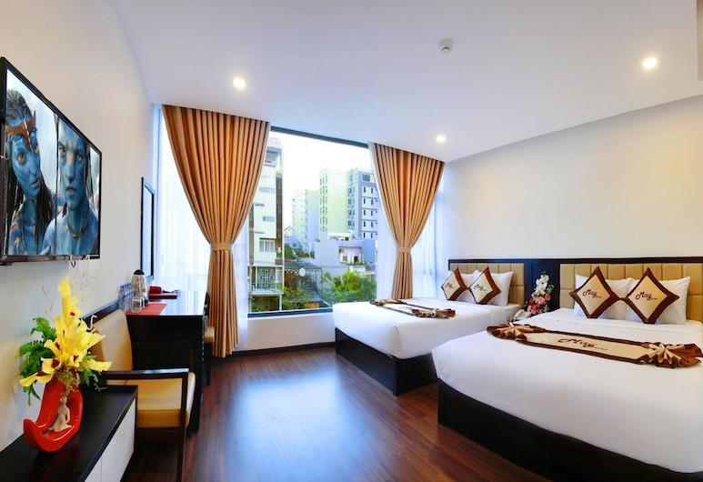 滿意飯店, 峴港, 客房, 2 張標準雙人床, 客房