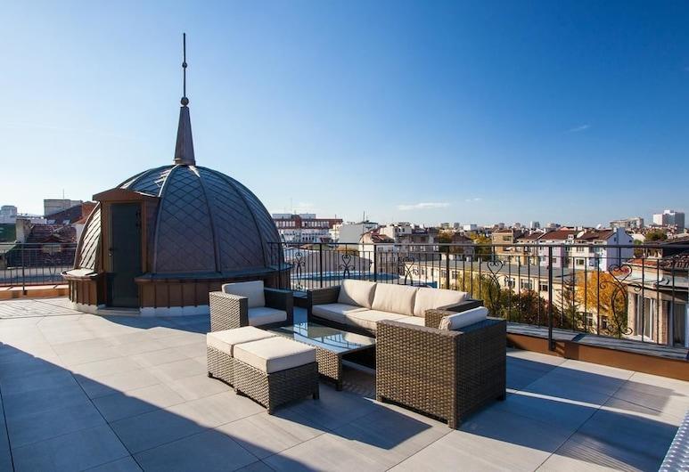 COOP Hotel, Sofia, Terrasse/veranda
