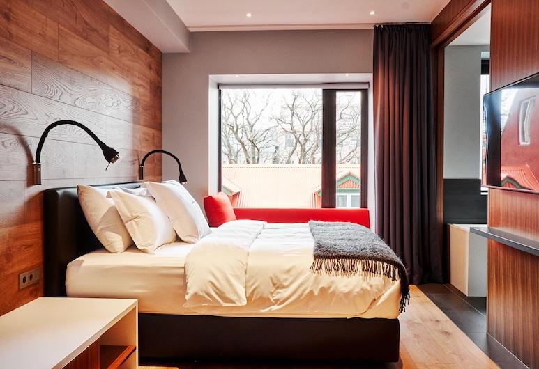 ION City Hotel, Reikjavikas, Liukso klasės dvivietis kambarys, 1 labai didelė dvigulė lova, su patogumais neįgaliesiems, Svečių kambarys