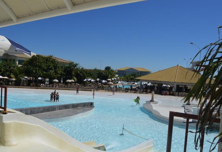 卡爾達斯森林保護區 5 號酒店, Caldas Novas, 水上樂園