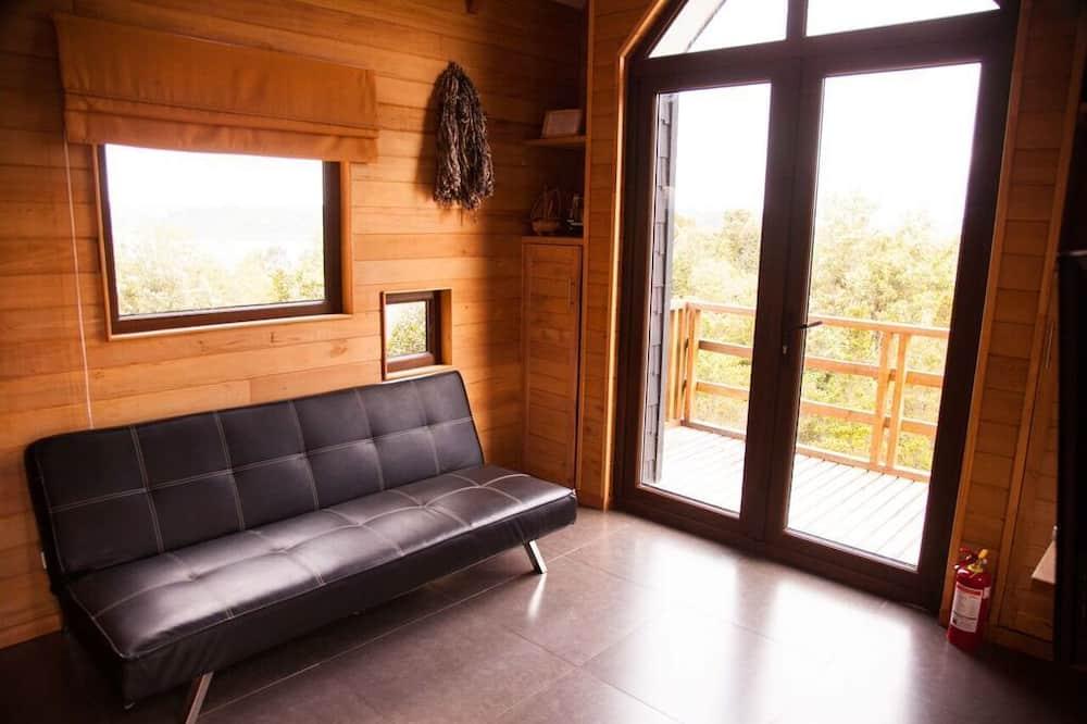 Casa de campo superior, 1 cama doble, bañera de hidromasaje - Zona de estar
