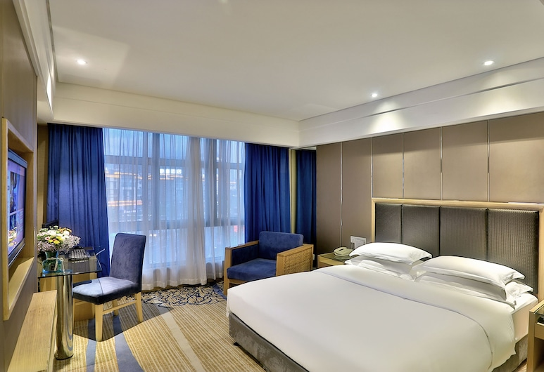 Bali Yating Hotel Yiwu, Jinhua, Deluxe Queen Room, Guest Room