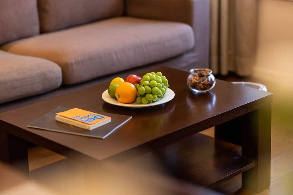 Apartament typu Premier Suite - Powierzchnia mieszkalna