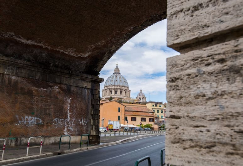 Cupola Magica, Rome, View from property
