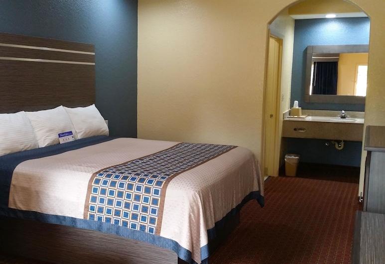 Americas Best Value Inn & Suites Houston NE, Houston, Zimmer, 1King-Bett, barrierefrei, Raucher, Zimmer