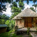 Романтичне бунгало, 1 спальня, з видом на сад - Номер