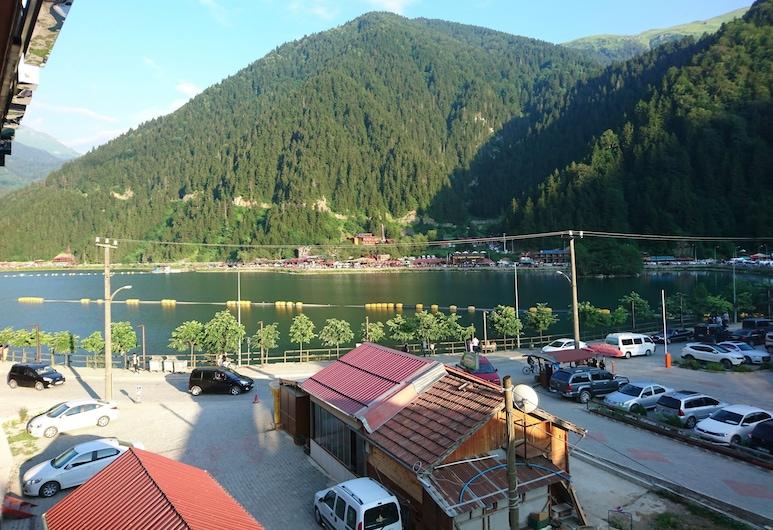 Uzungol Kusva Apart, Çaykara, Vista frontal de la propiedad