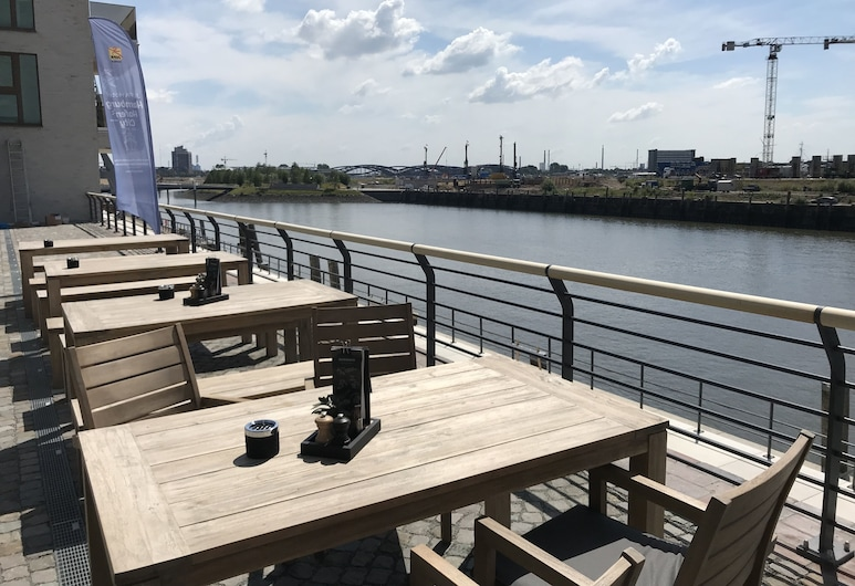 JUFA Hotel Hamburg HafenCity, Αμβούργο, Αίθριο/βεράντα