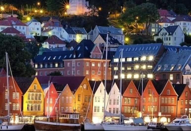Bergen Harbour Hotel, Bergen, Vaade hotellist