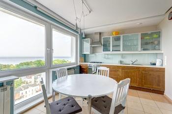 Foto van Dom & House - Level Eleven Apartment Sea View in Sopot