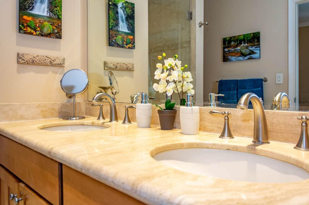 Розкішні апартаменти, 3 спальні - Ванна кімната