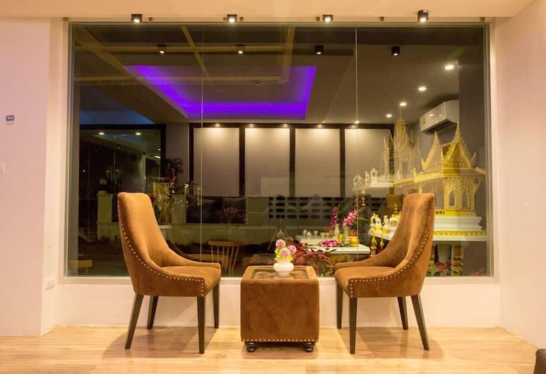 Pongsakorn Boutique Resort, Bangkok, Rezeption