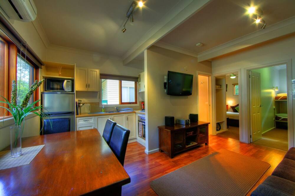Cabaña, 2 habitaciones (Wombat Lodge) - Sala de estar