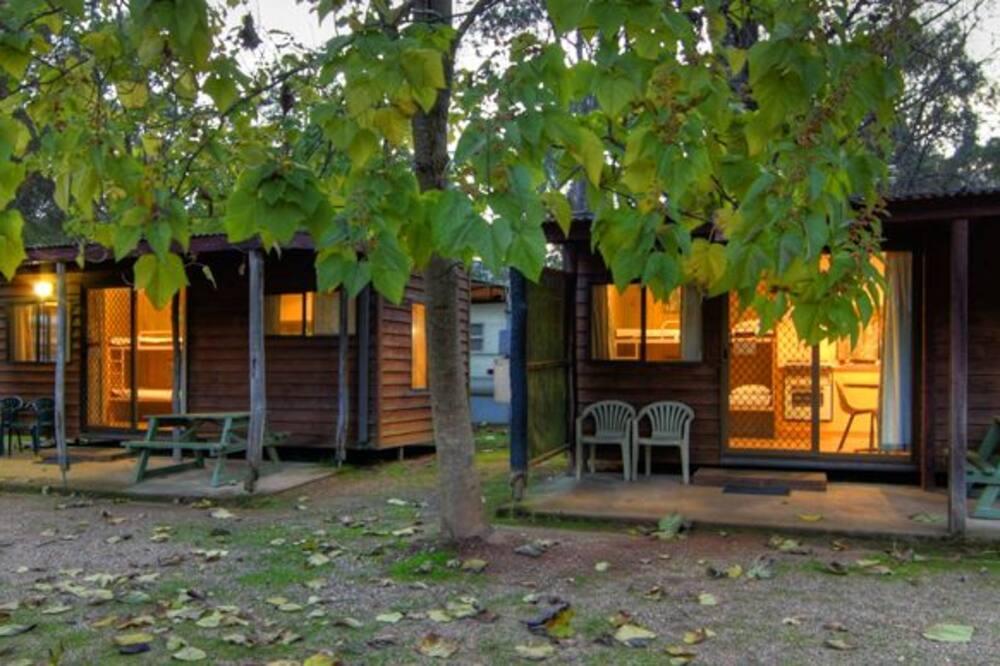 Bungalow estándar, Varias camas - Terraza o patio