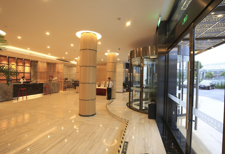 Crown Crystal Hotel, Szanghaj, Wejście wewnętrzne
