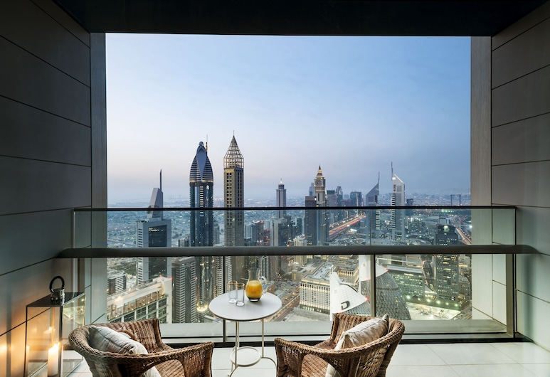 Dream Inn Dubai Apartments - Index Tower, Dubai, Superior Apartment, 2 Bedrooms, City View, Room