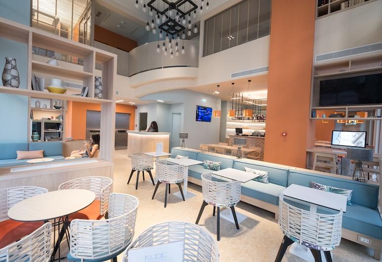 큐빅 아테네 스마트 호텔, 아테네, 로비 라운지