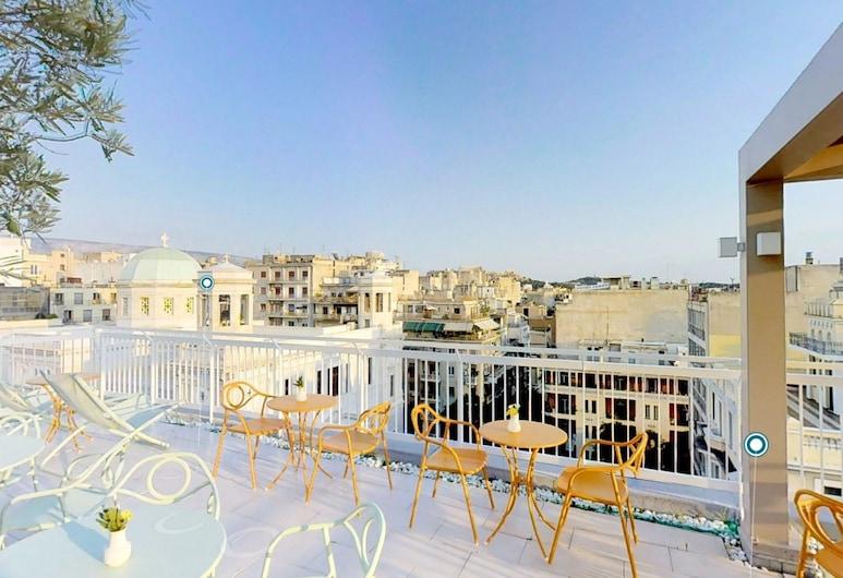 Kubic Athens Smart Hotel, אתונה, מרפסת/פטיו