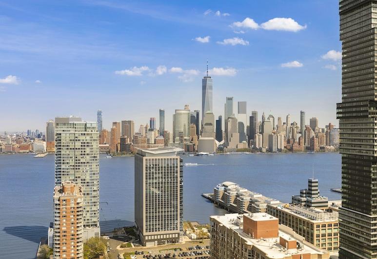 Skyline Luxury Home Suites at Newport, Jersey City, Apartament luksusowy, 3 sypialnie, Pokój
