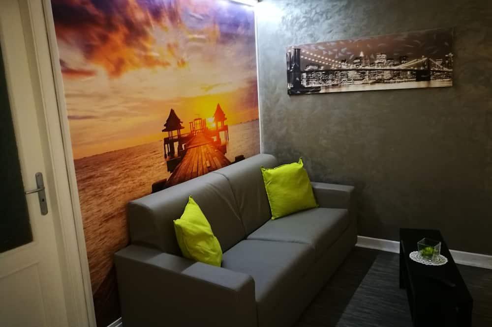 Suite Classic, 1 camera da letto, non fumatori, vista città - Area soggiorno