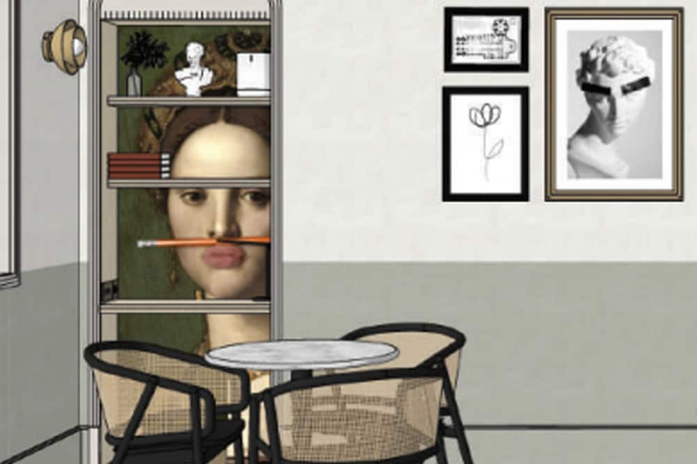 Superior Στούντιο, Μπαλκόνι - Δωμάτιο επισκεπτών