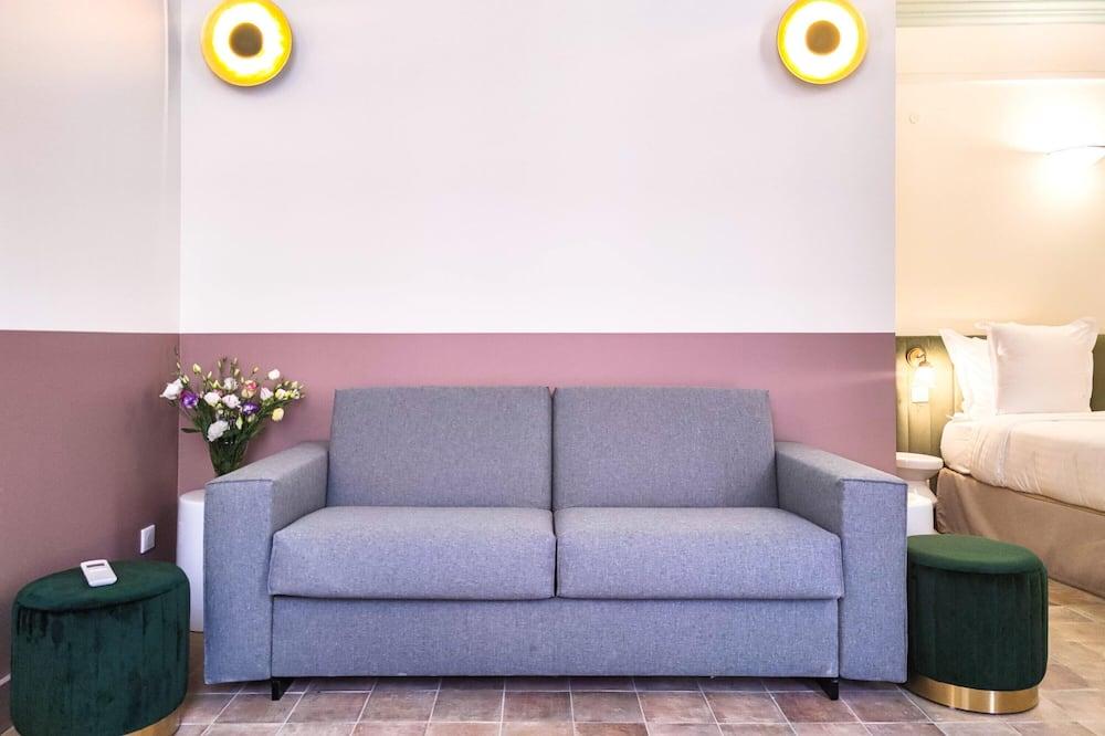 Studio Executive - balkong - Vardagsrum