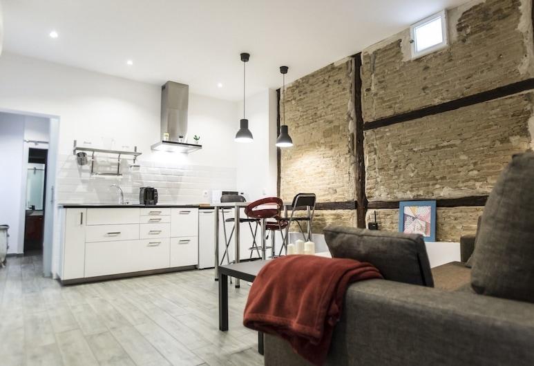 Alterhome Apartments Fuencarral, Madrid, Apartamento, 1 habitación, Zona de estar