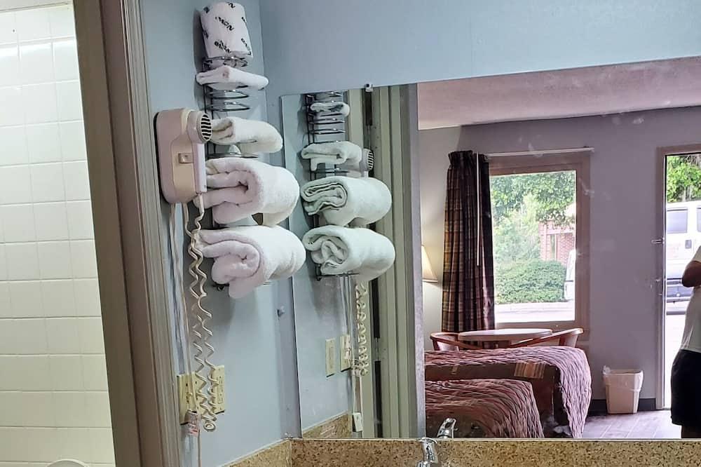 Basic-Doppelzimmer zur Einzelnutzung, 1 Schlafzimmer, Nichtraucher, Stadtblick - Badezimmer