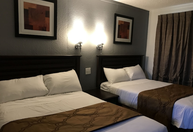 Relax Inn Motel, Flagstaff, Deluxe-Zimmer, 2Doppelbetten, Zimmer