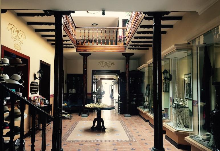 HOTEL SAN ANDRES, Cuenca, Lobby