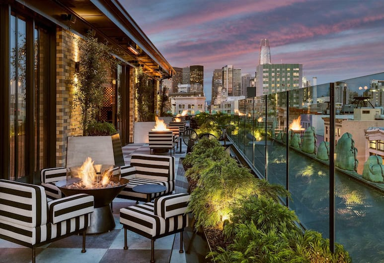 San Francisco Proper Hotel, San Francisco, Terrace/Patio
