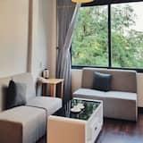 חדר דה-לוקס זוגי - אזור מגורים