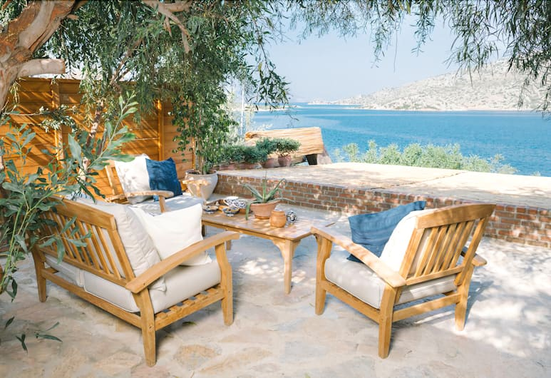 Karia Bel Hotel & Restaurant - Adults Only, Marmaris, Teras/Veranda